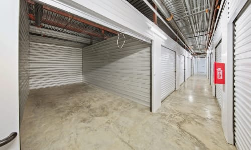 Interior Storage Units at Storage Star in Plano, Texas