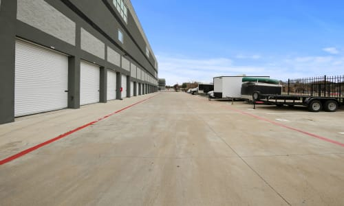 Exterior Storage Units at Storage Star in Plano, Texas