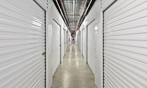 Storage Hallway at Storage Star in Plano, Texas