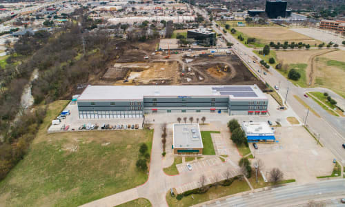 Ariel view of Storage Units at Storage Star in Plano, Texas