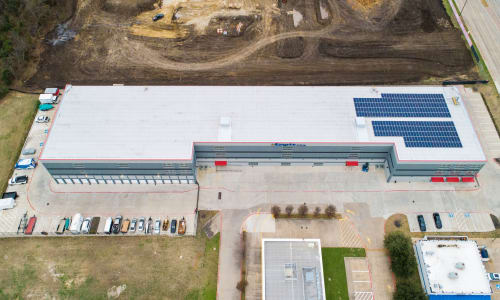 Ariel view of Storage Star in Plano, Texas Exterior Storage Units