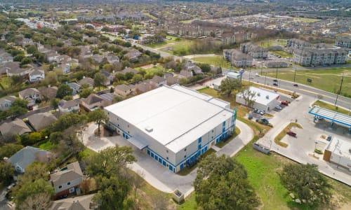 American Value Storage in San Antonio, Texas drone view of exterior