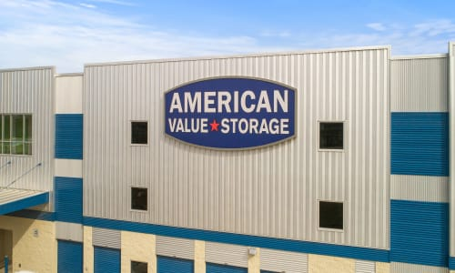 San Antonio, Texas storage facility Front sign