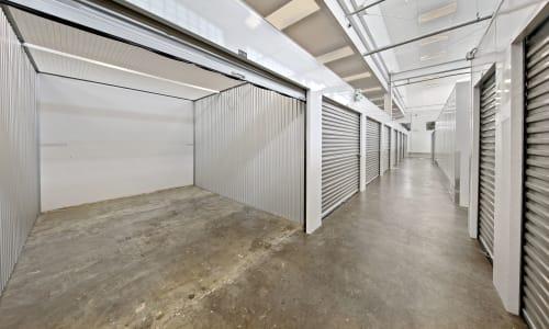 Large Interior Storage Units at East Sac Self Storage in Sacramento, California