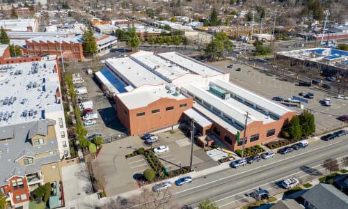 East Sac Self Storage in Sacramento, California self storage Ariel View
