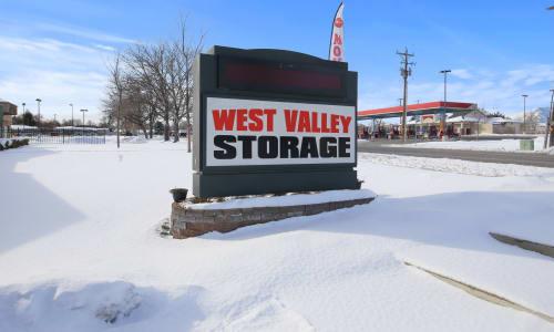 Storage Front sign at Storage Star West Valley in West Valley, Utah