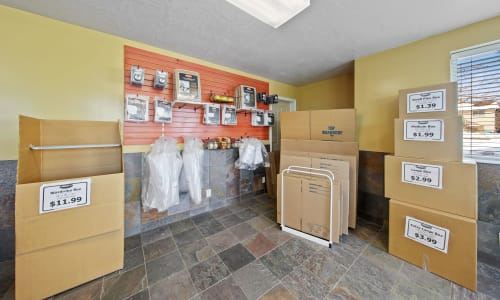 Supplies available in Office Space at Storage Star West Valley in West Valley, Utah