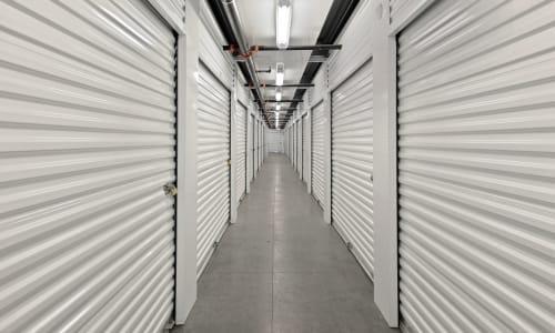 Storage Hallway at Market Place Self Storage in Park City, Utah