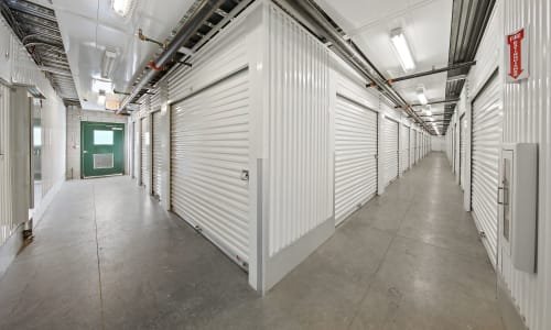 Interior Storage Units at Market Place Self Storage in Park City, Utah