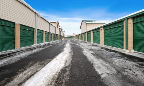 Market Place Self Storage in Park City, Utah Exterior Storage Units