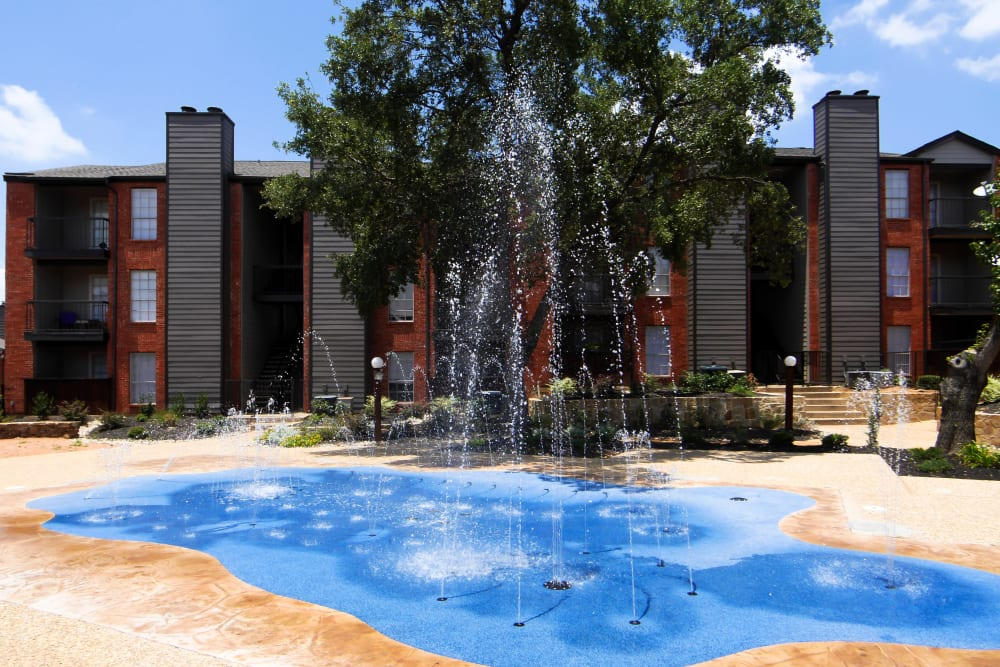 Splash Pad at Woodford Ridge in Fort Worth