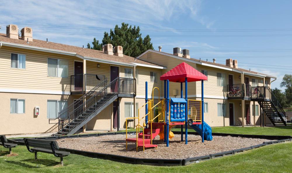 Children's playground at Callaway Apartments