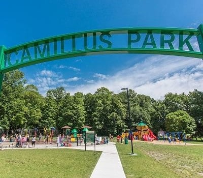 Entertainment and recreation options near Canal Crossing in Camillus, NY