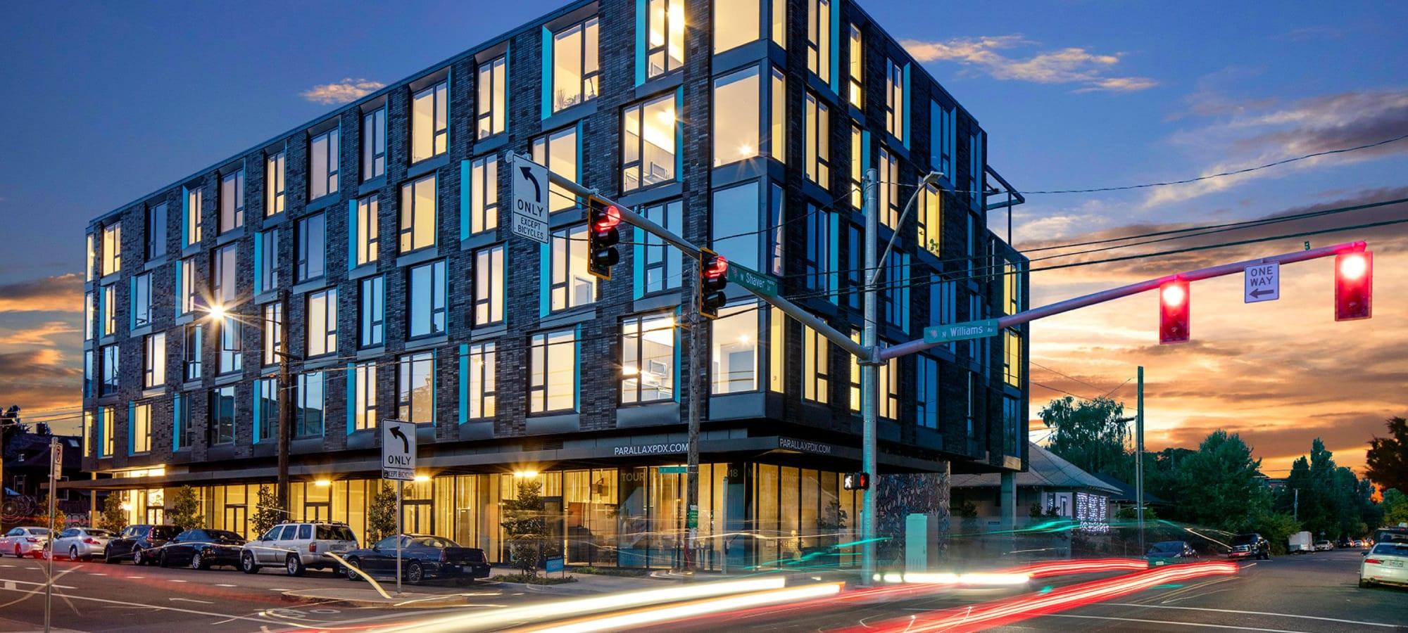 Apartments at Parallax Apartments in Portland, Oregon