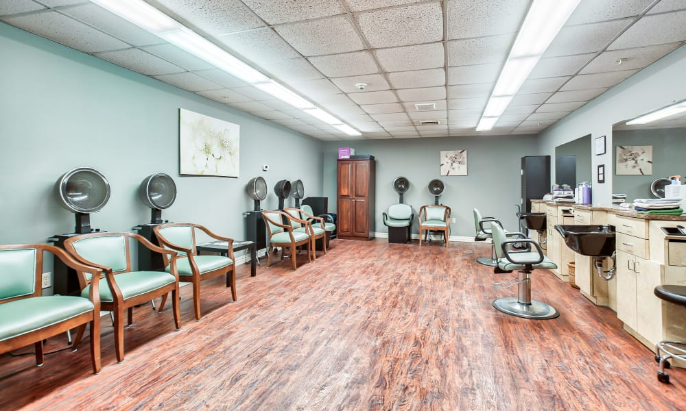 A salon at Smithfield Woods in Smithfield, Rhode Island