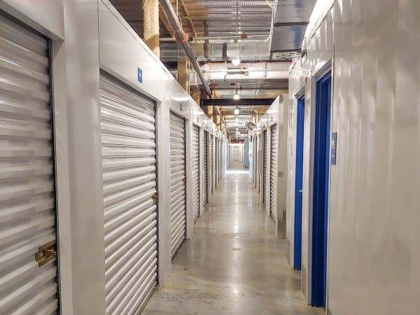 Exterior of units at StorQuest Self Storage in North Miami Beach, Florida