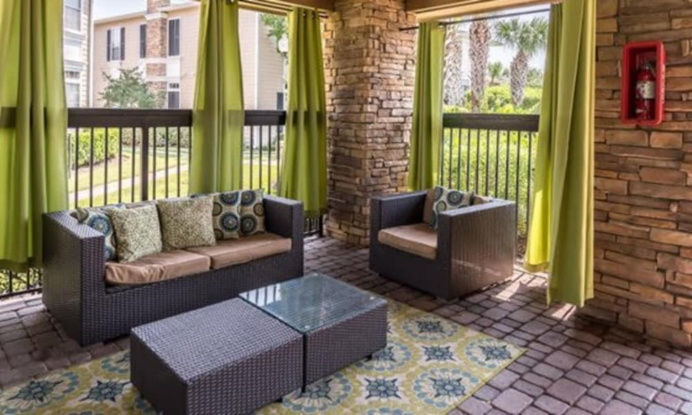 Clubhouse sitting area at Station at Mason Creek in Katy, Texas