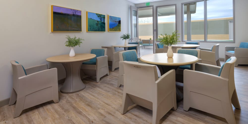 Seating area at Avenir Behavioral Health Center in Surprise, Arizona
