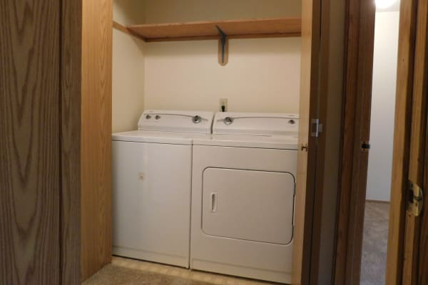 Full Size Washer and Dryer at Fountain Court in Springfield, OR