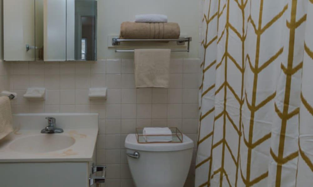 Bathroom at Rochester Highlands