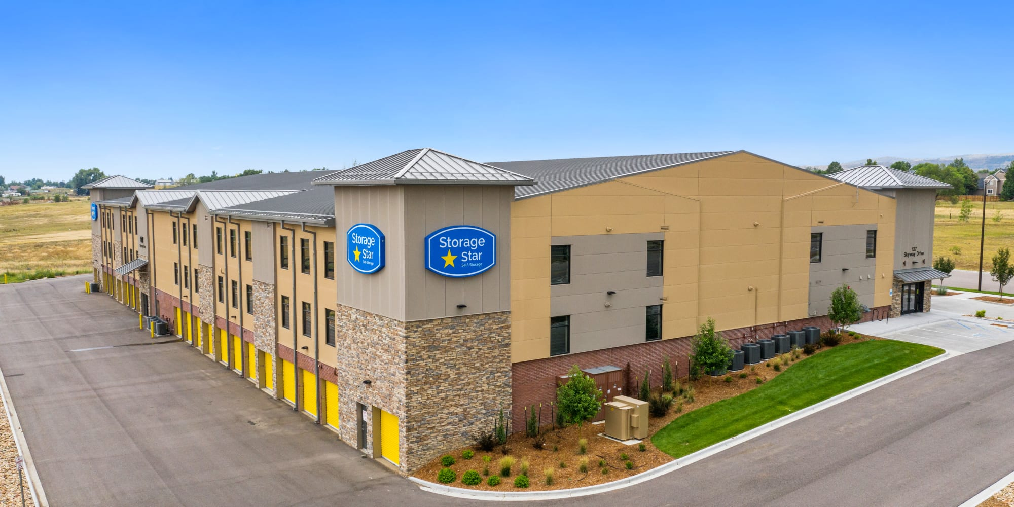 Self storage at Storage Star South College in Fort Collins Colorado