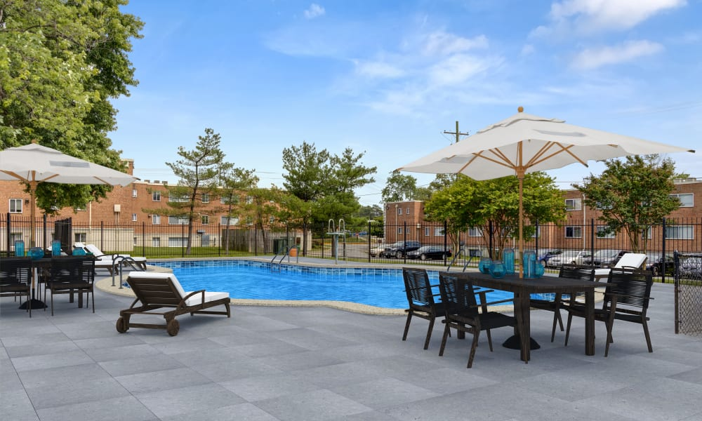 Upcoming pool at Regency Pointe in Forestville, Maryland