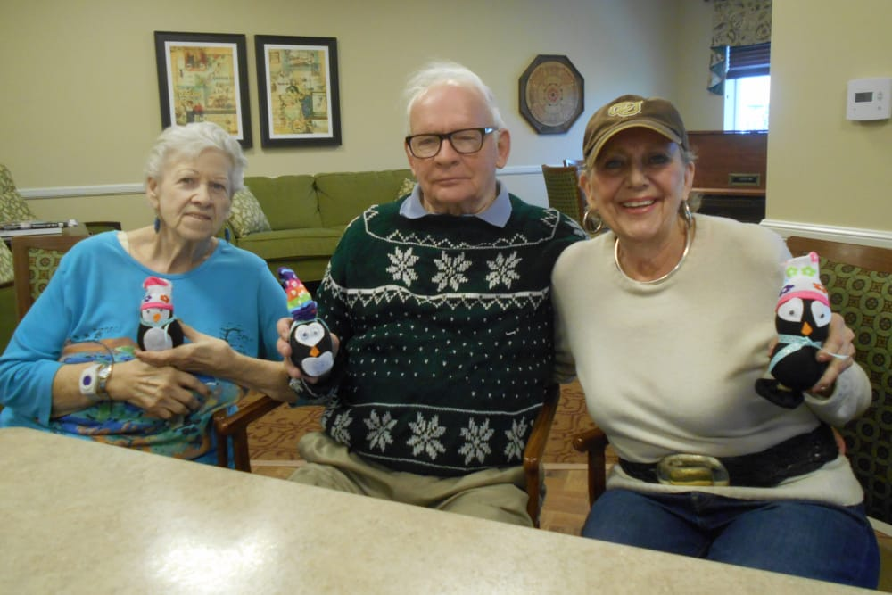 Happy residents living at Eastern Star Masonic Retirement Campus in Denver, CO