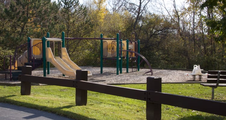 Playground at Carriage Hill Apartments in Pittsford
