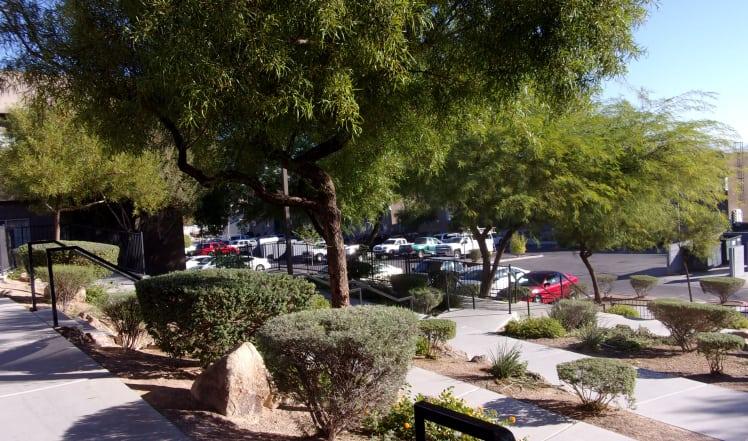 Parking at Maryland Villas in Las Vegas, NV