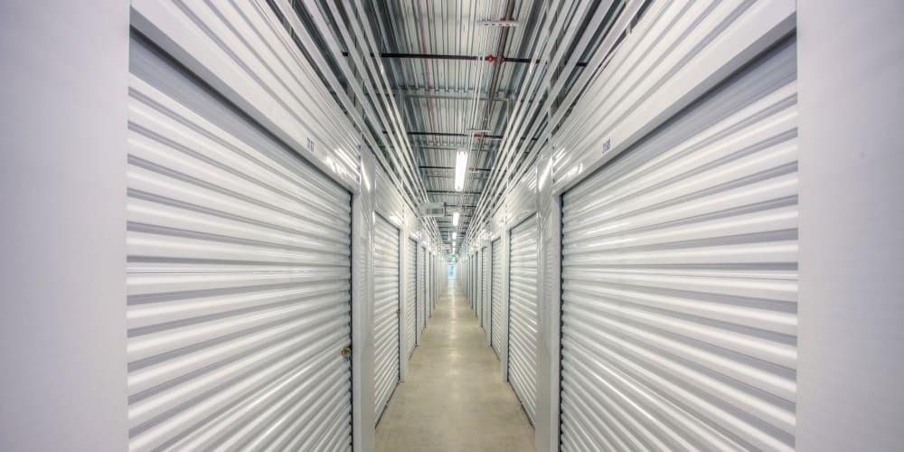Interior units at StorQuest Self Storage in Greenwood Village, Colorado