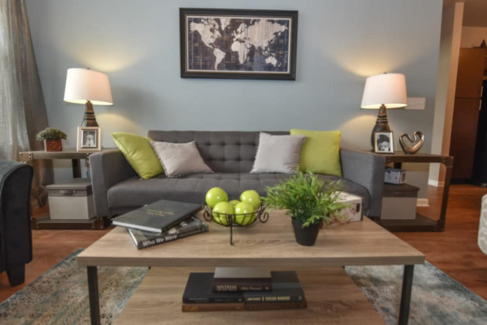 Living Room at Springs at South Elgin in South Elgin