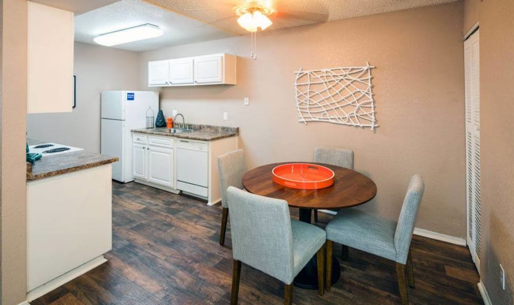Spacious Dining Room  at The Woodlands Apartments