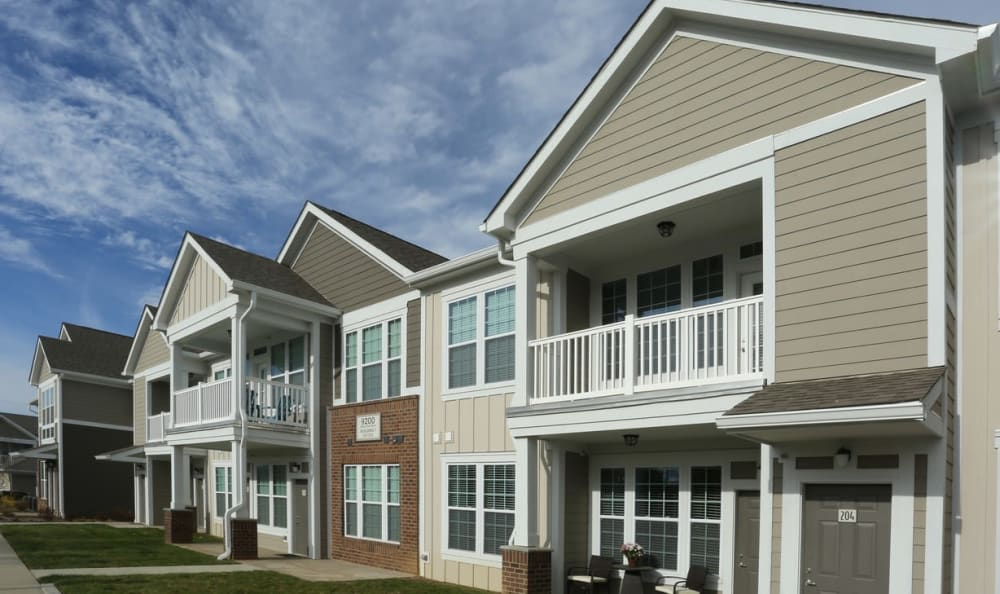 apartment exterior Springs at Hurstbourne in Louisville, KY