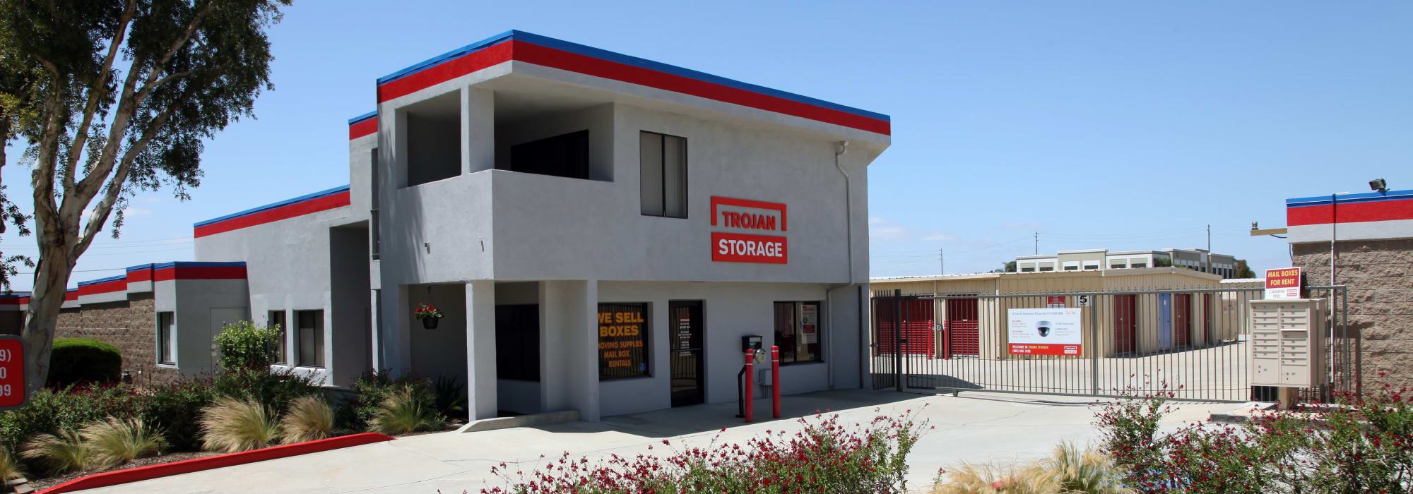 Self storage at Trojan Storage in Rancho Cucamonga California