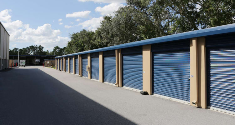 Storage units at Midgard Self Storage in Bradenton, Florida