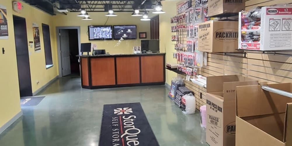 Packing supplies available at StorQuest Self Storage in Thornwood, New York