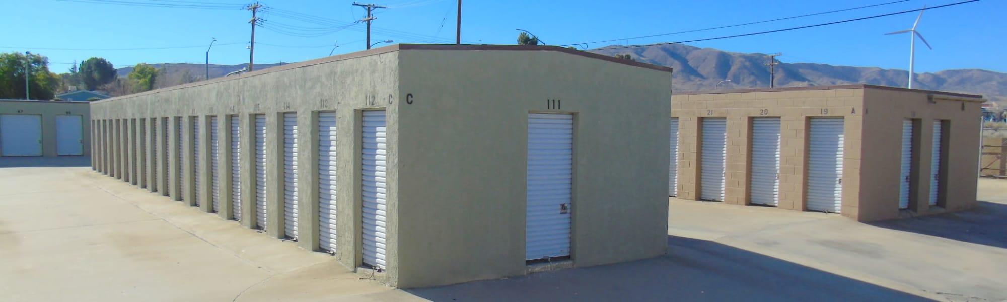 A-American Self Storage in Palmdale, California