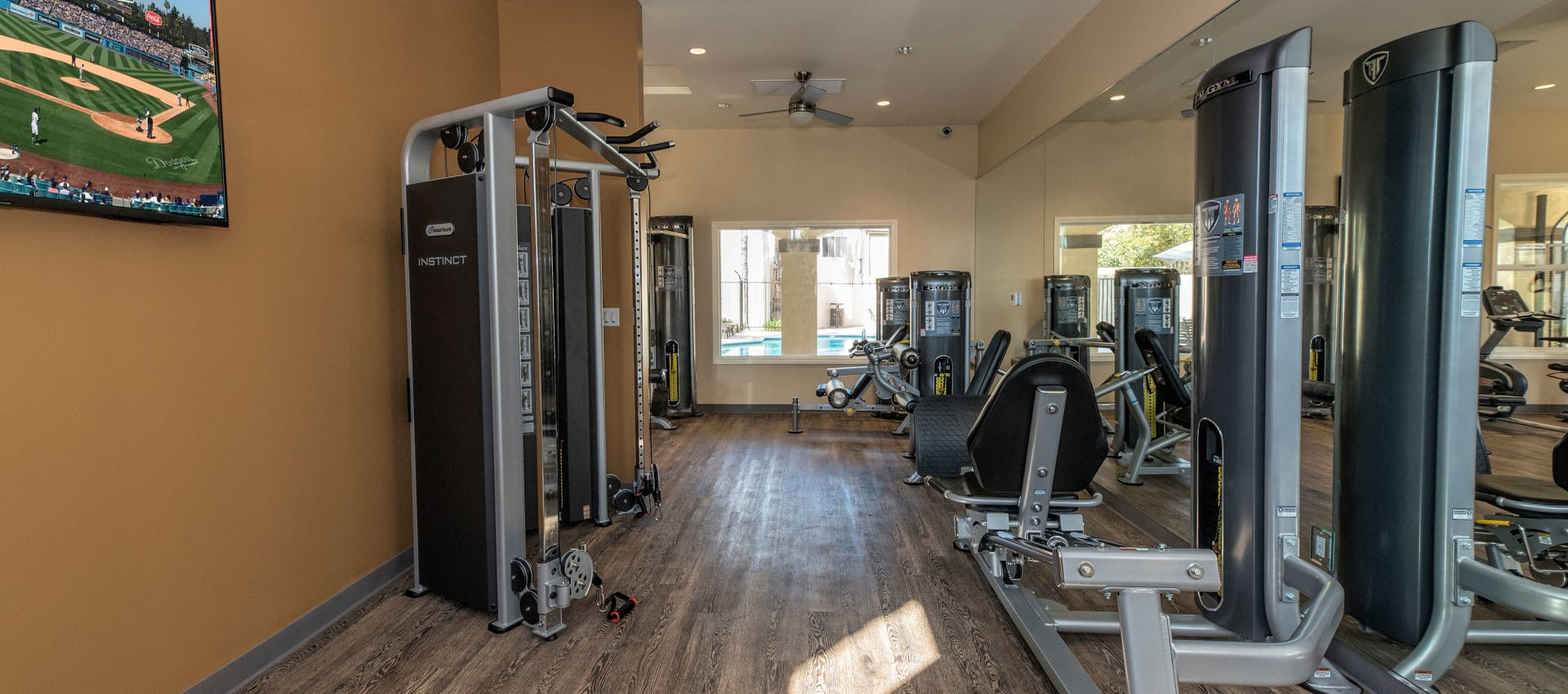 Fitness Center at Shadow Ridge Apartment Homes in Simi Valley, California