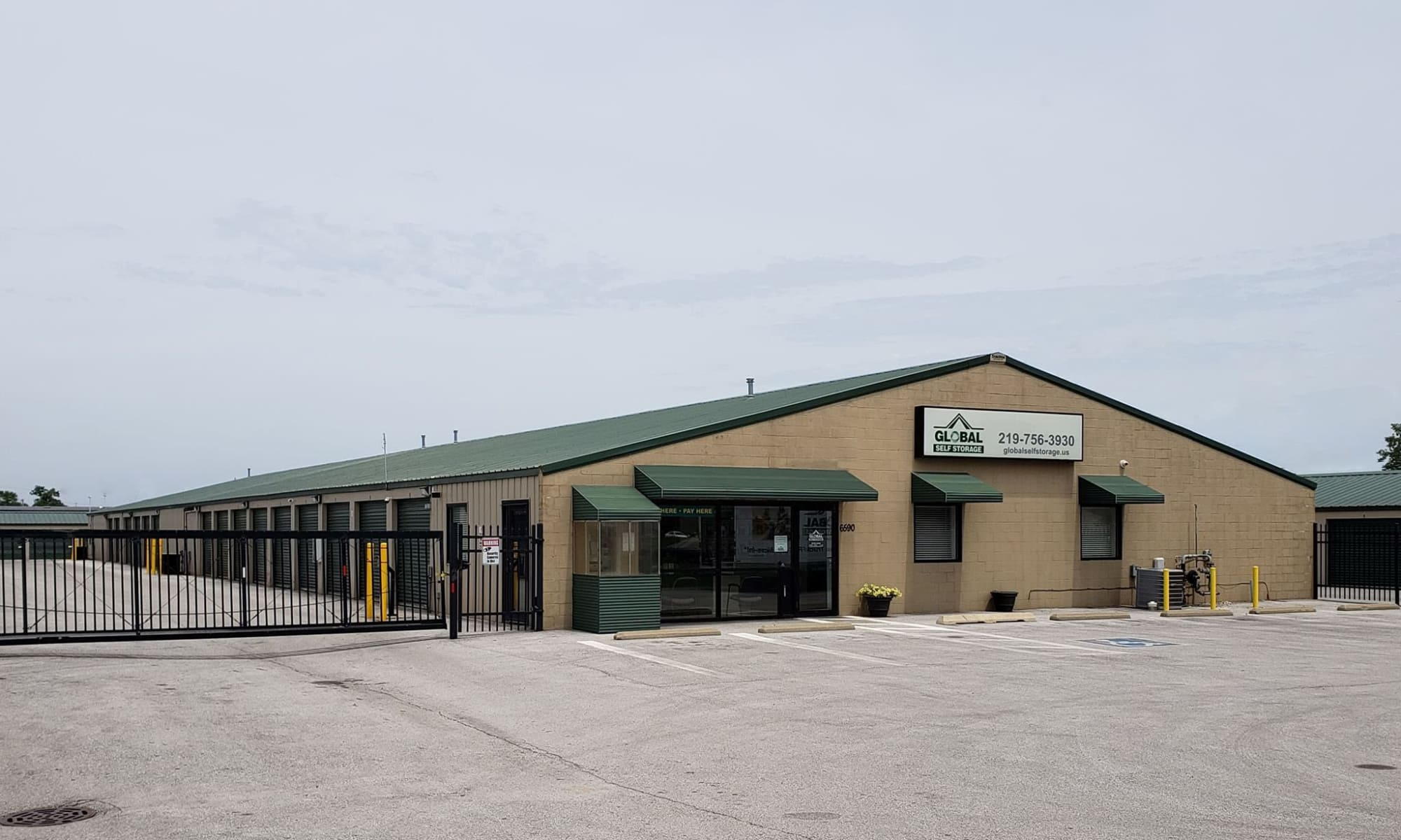 Self Storage available at Global Self Storage in Merrillville, IN