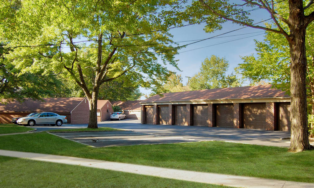 Garages at General Greene Village Apartment Homes
