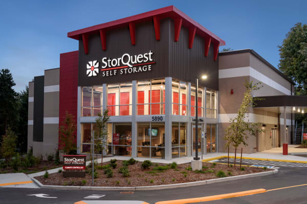 Business storage units available at StorQuest Self Storage in Seattle, Washington