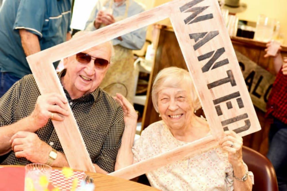 Western themed event at River Commons Senior Living in Redding, California