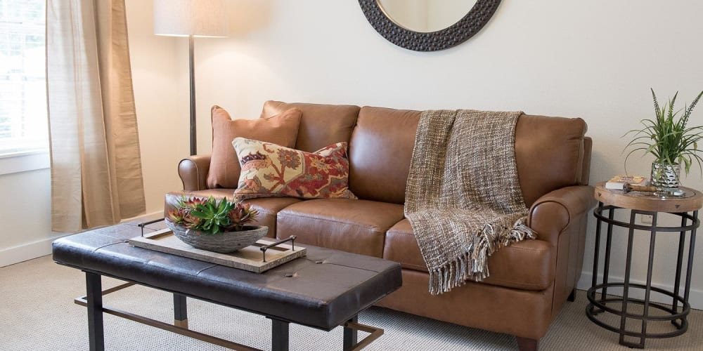 Independent living apartment at The Springs at Greer Gardens in Eugene, Oregon