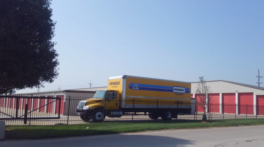 Moving truck to rent at KO Storage of Salina - 9th in Salina, Kansas
