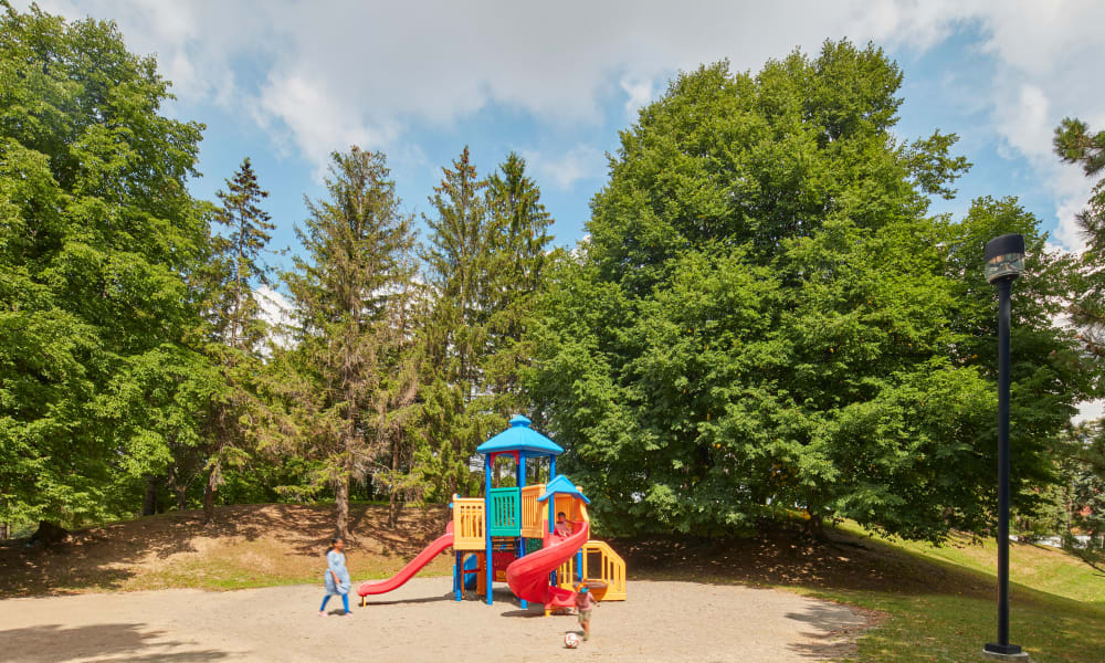 Beautiful playground at 8 Silver Maple Court in Brampton, Ontario