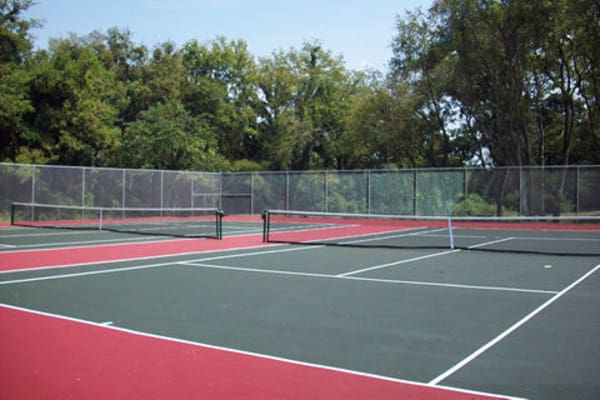 Tennis court at Jackson Grove Apartment Homes in Hermitage, Tennessee