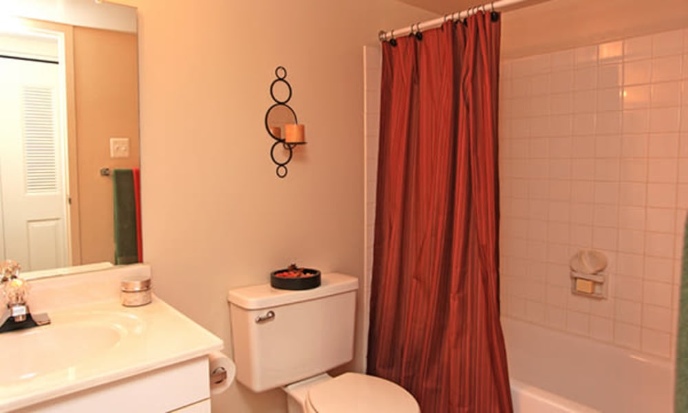 Carriage Hill Apartment Homes offers a bathroom in Randallstown, Maryland