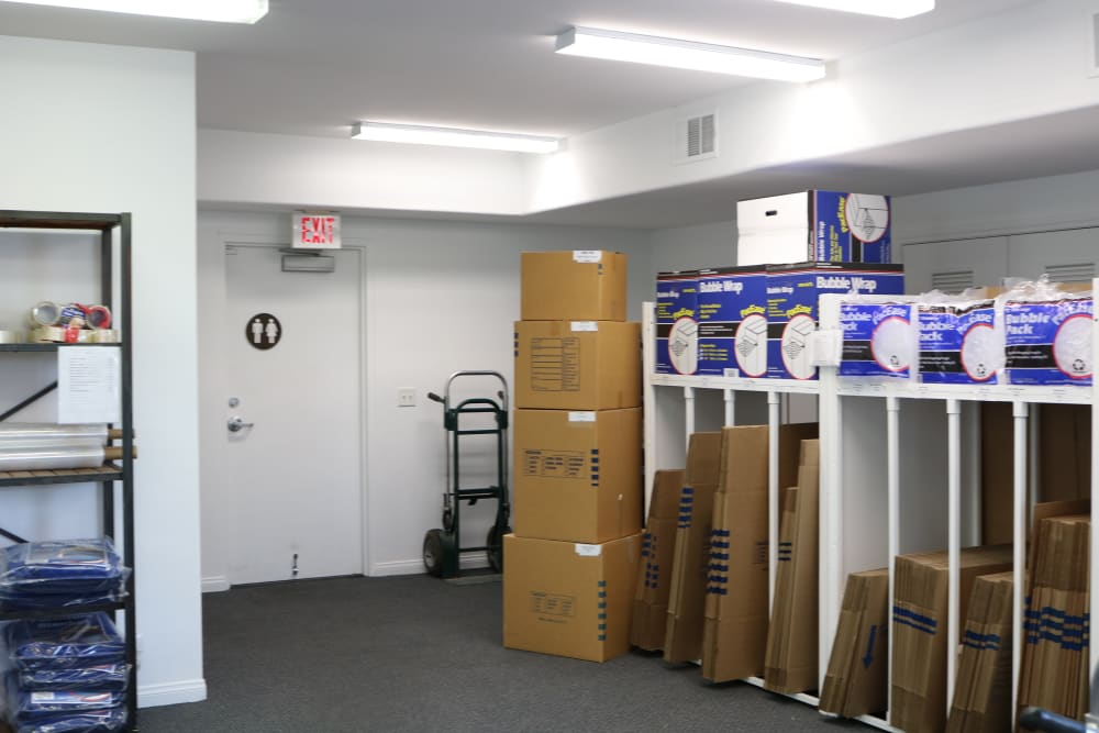 Boxes and packing supplies available from Best Storage in Henderson, Nevada