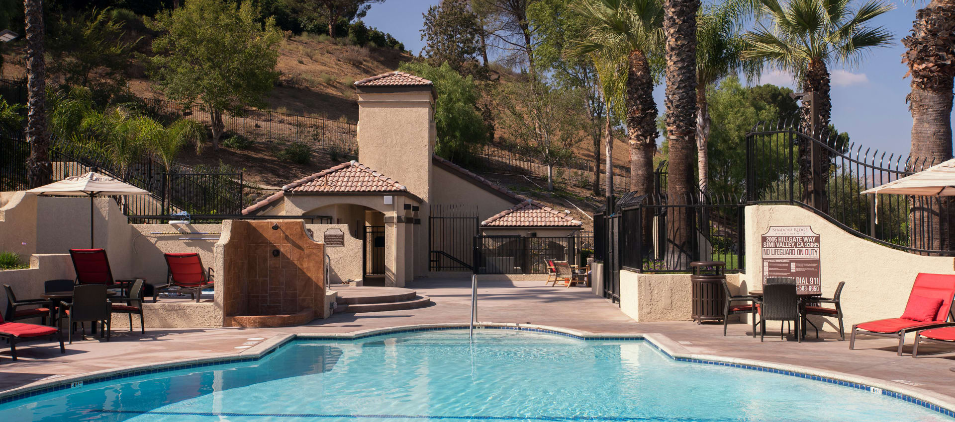 Swimming Pool at Shadow Ridge Apartment Homes in Simi Valley, California