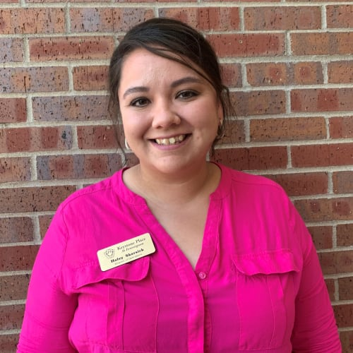 Haley Skirsick, Director of Operations at Keystone Place at Forevergreen in North Liberty, Iowa